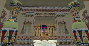 Ancient Alexandria, Egypt SIM Second Life Temple